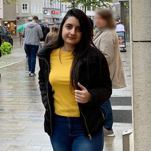 Tanzpartner Reema Badarne
